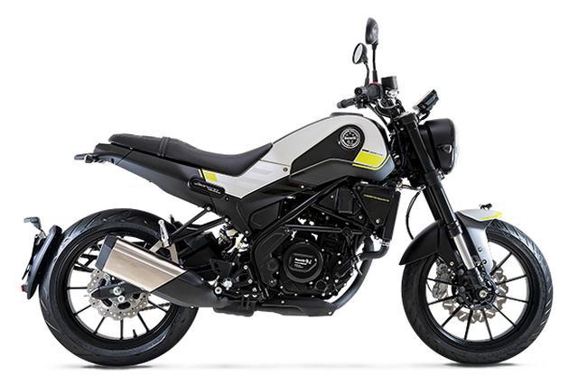 画像: Benelli Leoncino250 総排気量:249cc エンジン形式:水冷4ストDOHC4バルブ単気筒 シート高:810mm 乾燥重量:155kg メーカー希望小売価格:54万8900円(消費税10%込)