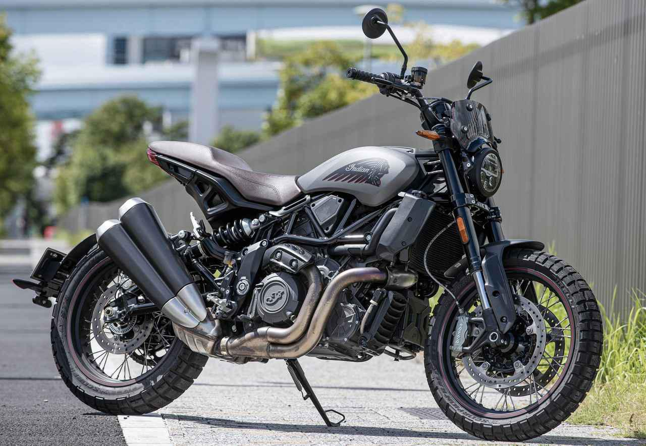 画像: Indian MOTORCYCLE FTR Rally 総排気量:1203cc エンジン形式:水冷4ストDOHC4バルブV型2気筒 メーカー希望小売価格:税込209万8000円~