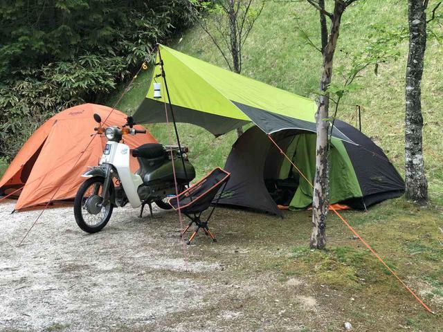 画像: ホンダSUPER CUB 90×2台とC70・C110がゆく。ドキッ、カブだらけのキャンプツーリング。小川張りマスターに俺はなる! - webオートバイ