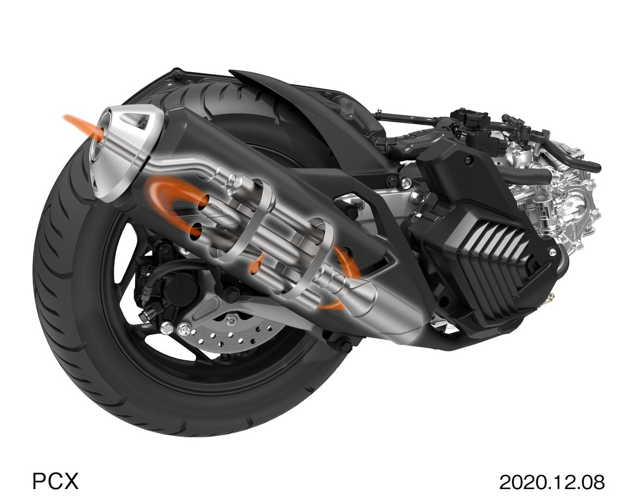 Images : 9番目の画像 - 新型PCX - webオートバイ