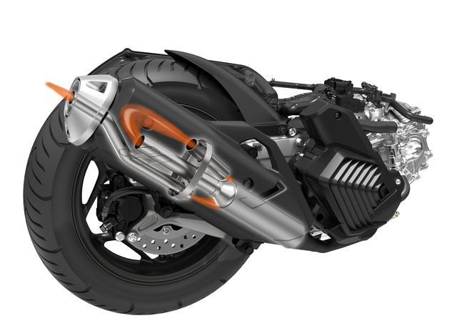 画像4: 新型PCXの活用範囲を広げる軽二輪バージョン