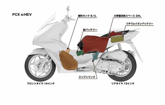 画像2: PCXハイブリッドの後継モデル