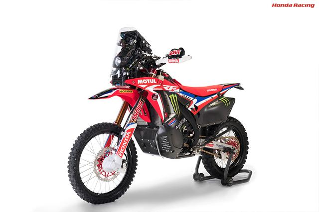 画像: CRF450RALLY(2020) www.honda.co.jp