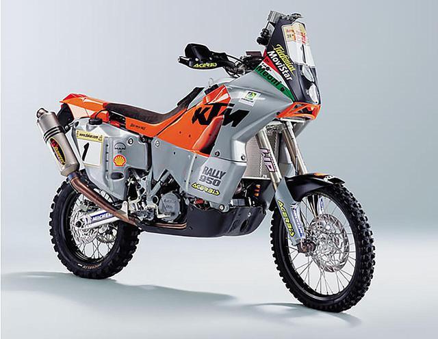 画像: KTM 950RALLY(2002) www.ktm-japan.co.jp