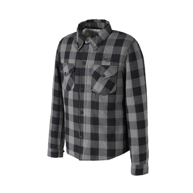画像1: 裏地にボアが備わった冬用ネルシャツ! RIDEZから「モトフランネルシャツ」が発売