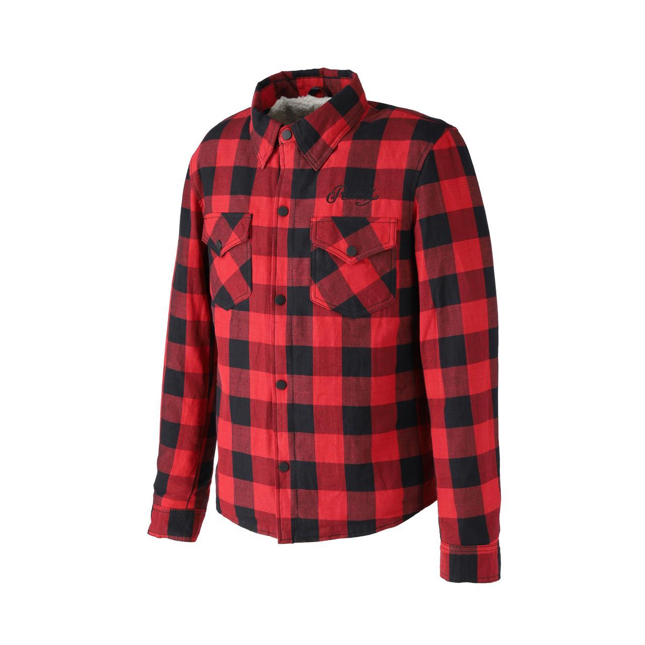 画像4: 裏地にボアが備わった冬用ネルシャツ! RIDEZから「モトフランネルシャツ」が発売