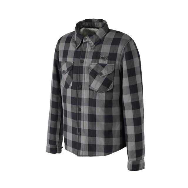 画像5: 裏地にボアが備わった冬用ネルシャツ! RIDEZから「モトフランネルシャツ」が発売