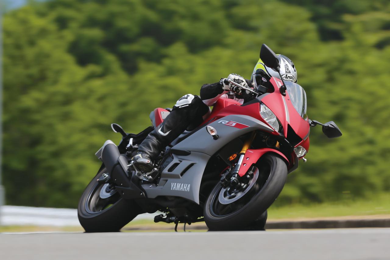 画像: ヤマハ「YZF-R3」試乗インプレ・車両解説 - webオートバイ