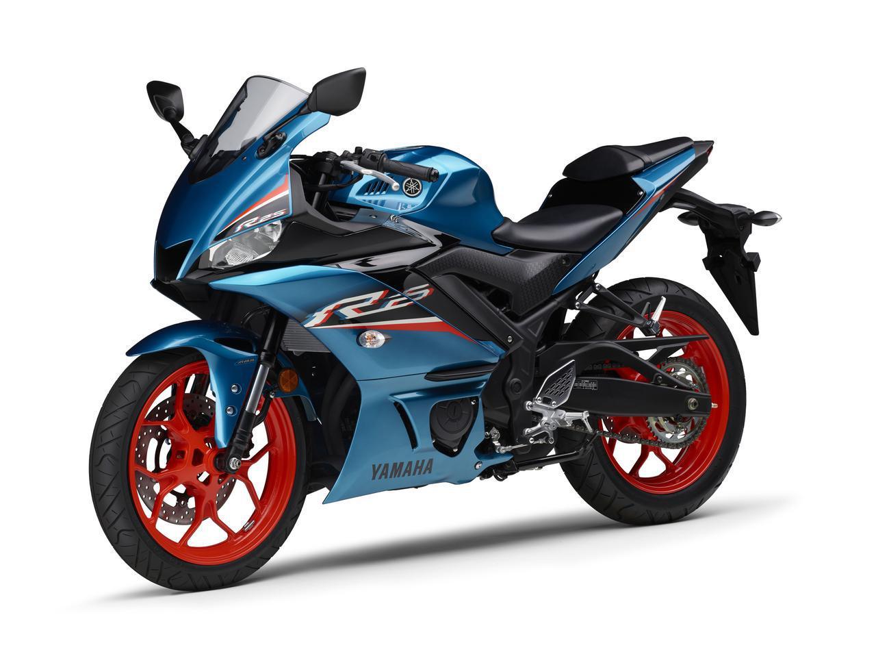 画像23: ヤマハが「YZF-R25」「YZF-R3」の2021年モデルを発売! トレンド色のシアンを初採用