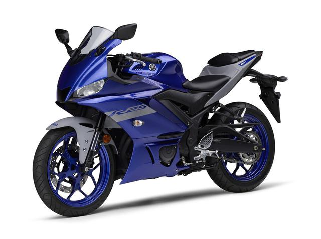画像31: ヤマハが「YZF-R25」「YZF-R3」の2021年モデルを発売! トレンド色のシアンを初採用