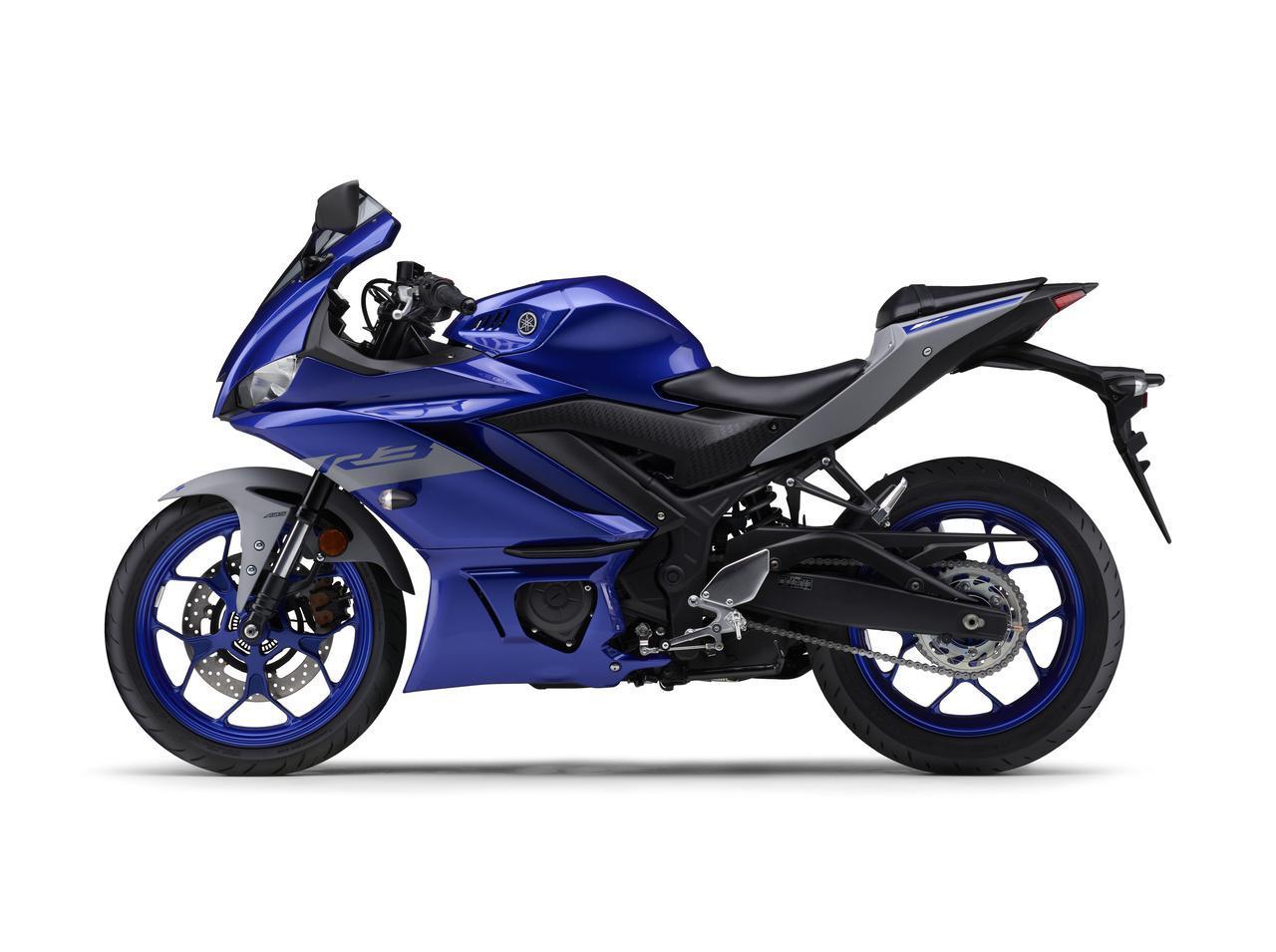 画像10: ヤマハが「YZF-R25」「YZF-R3」の2021年モデルを発売! トレンド色のシアンを初採用