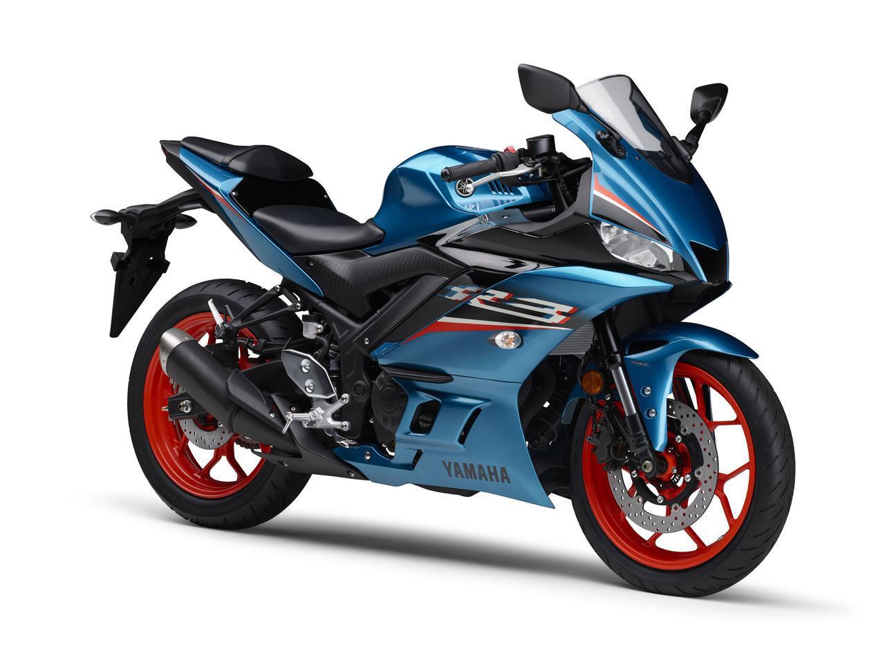 画像3: ヤマハが「YZF-R25」「YZF-R3」の2021年モデルを発売! トレンド色のシアンを初採用