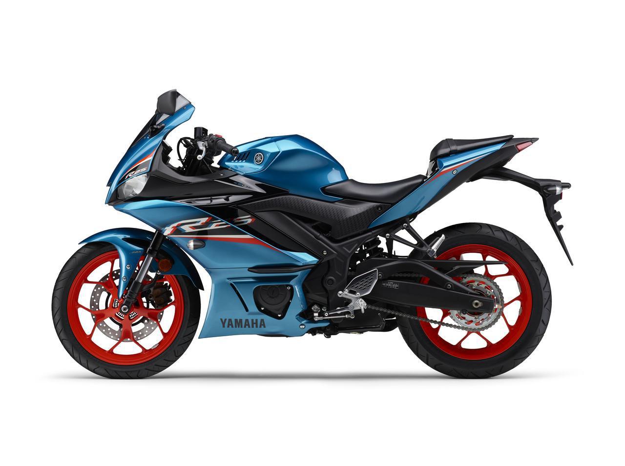 画像21: ヤマハが「YZF-R25」「YZF-R3」の2021年モデルを発売! トレンド色のシアンを初採用