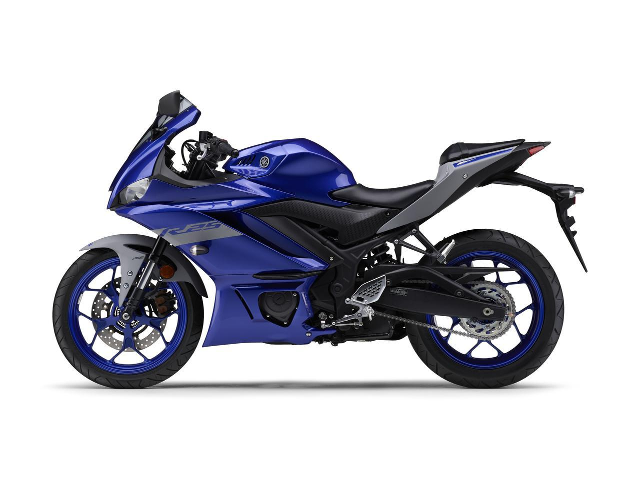 画像29: ヤマハが「YZF-R25」「YZF-R3」の2021年モデルを発売! トレンド色のシアンを初採用