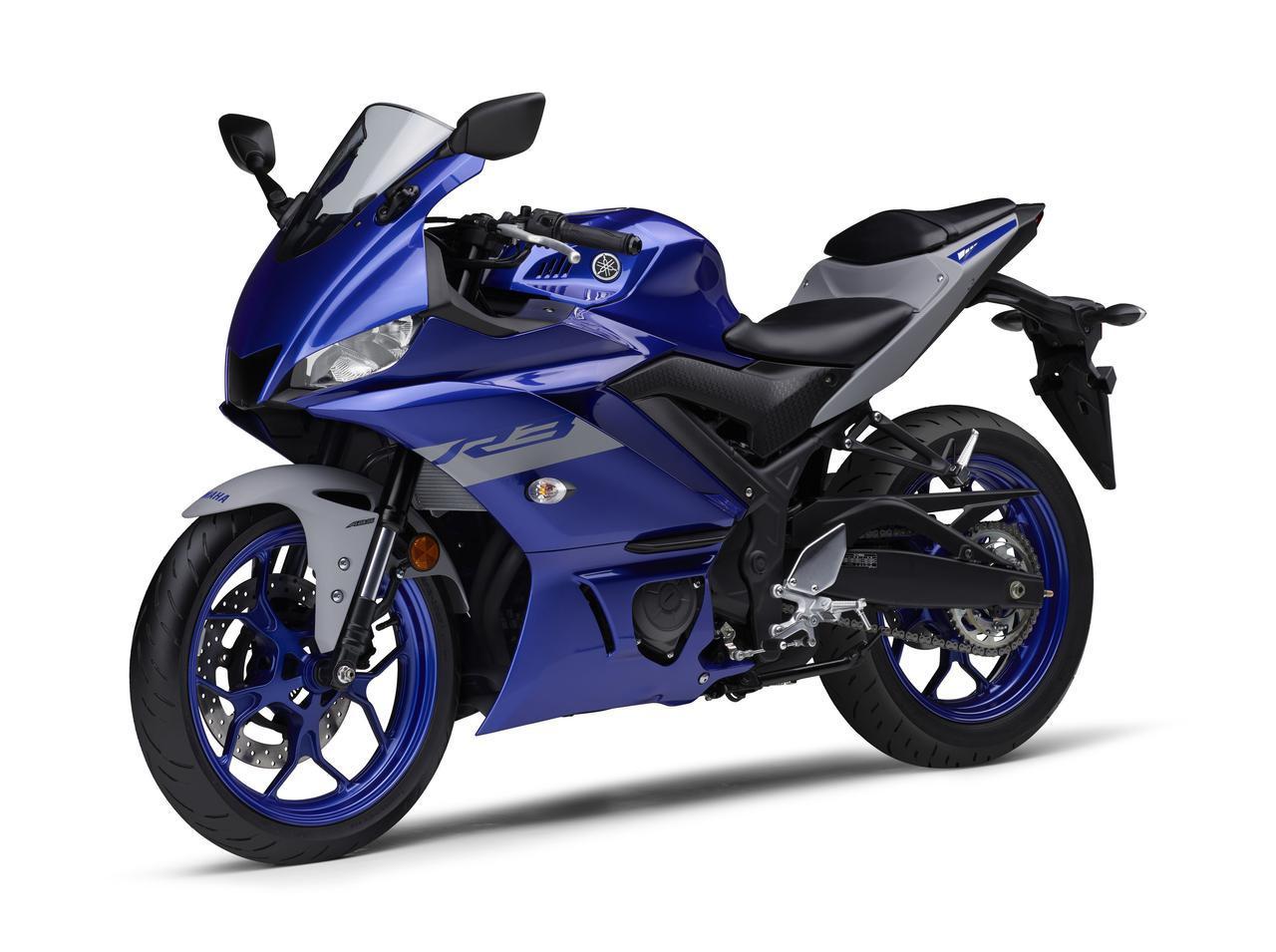 画像12: ヤマハが「YZF-R25」「YZF-R3」の2021年モデルを発売! トレンド色のシアンを初採用