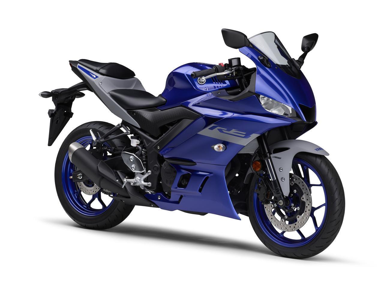 画像11: ヤマハが「YZF-R25」「YZF-R3」の2021年モデルを発売! トレンド色のシアンを初採用