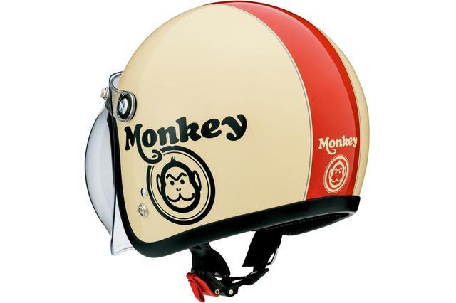 画像: ホンダ純正のモンキーヘルメット情報はこちら - webオートバイ