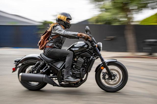 画像: レブル1100シリーズ・海外仕様車の走行写真 - webオートバイ