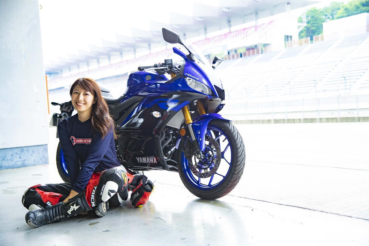画像: 新型「YZF-R25」で最高速チャレンジ! 大関さおりさんが全力アタック! - webオートバイ
