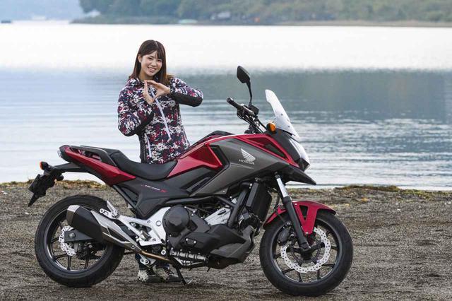 画像: ほぼ月刊「梅本まどかとオートバイ」vol.28 HONDA NC750X デュアル・クラッチ・トランスミッション - webオートバイ
