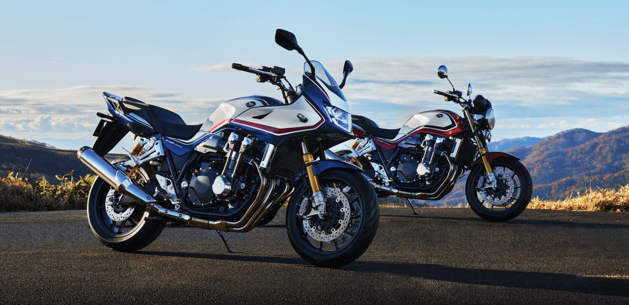 画像: ホンダ 新型 CB1300 SUPER BOL D'OR SP(左)/新型 CB1300 SUPER FOUR SP(右)