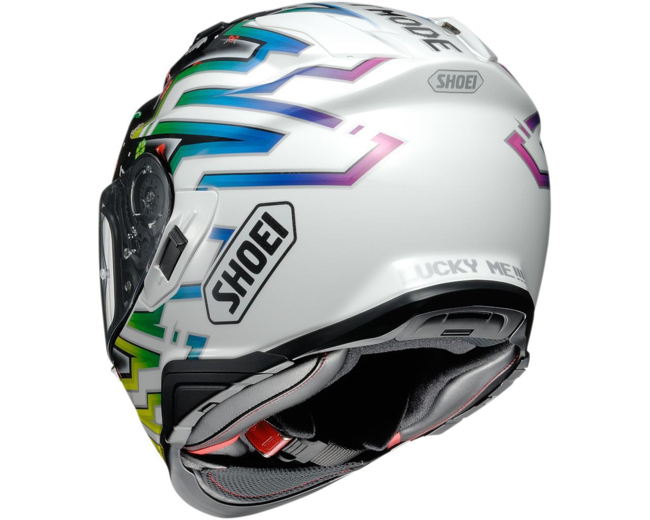 画像2: SHOEIが受注限定モデルのヘルメット「GT-AirII LUCKY CHARMS」を発表! 2021年3月発売予定