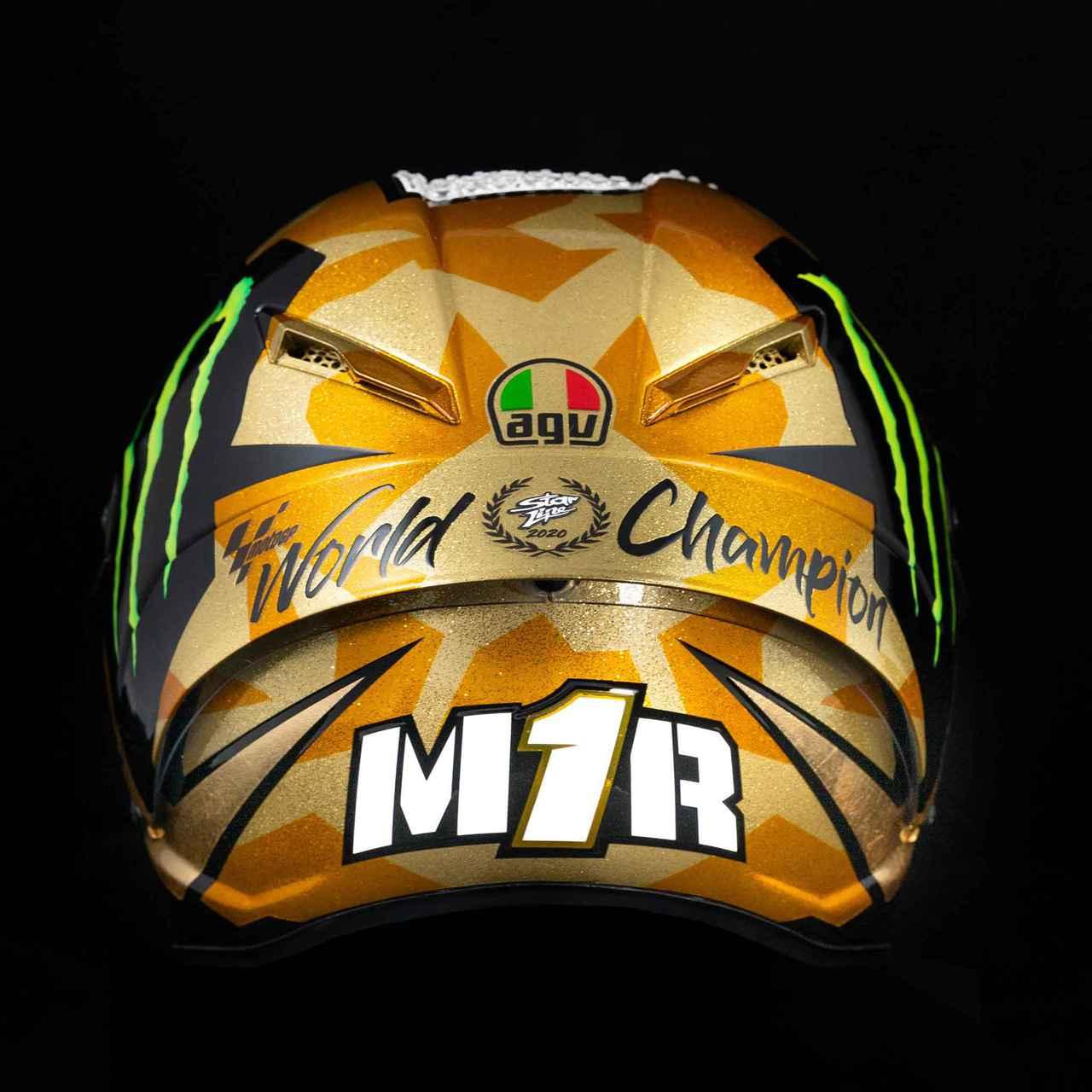 Images : 3番目の画像 - AGV PISTA GP RR 012-MIR WORLD CHAMPION 2020 - webオートバイ