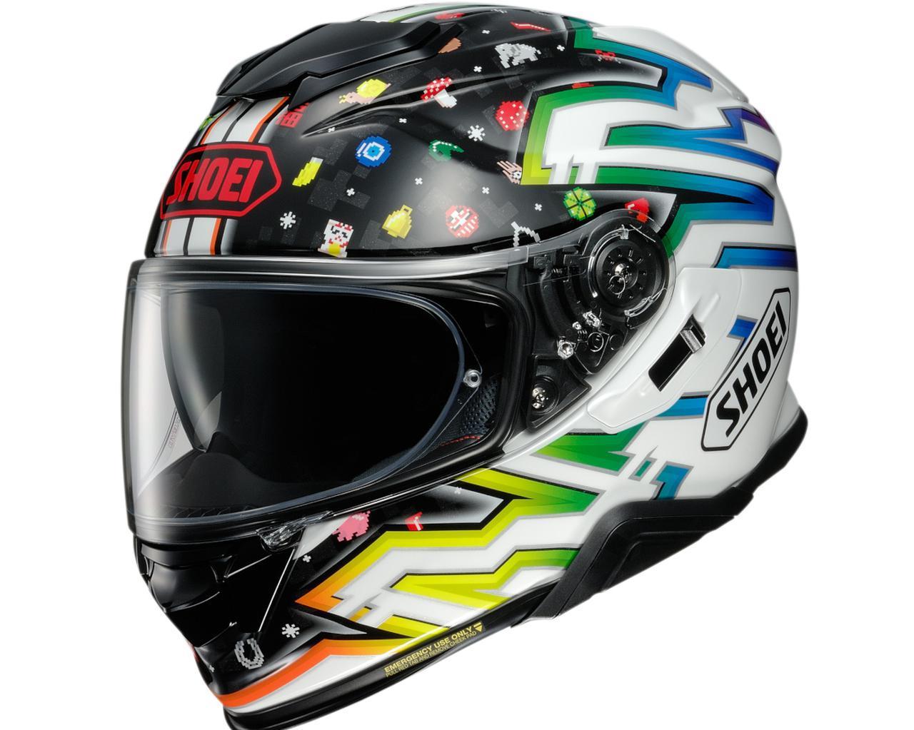 画像1: SHOEIが受注限定モデルのヘルメット「GT-AirII LUCKY CHARMS」を発表! 2021年3月発売予定