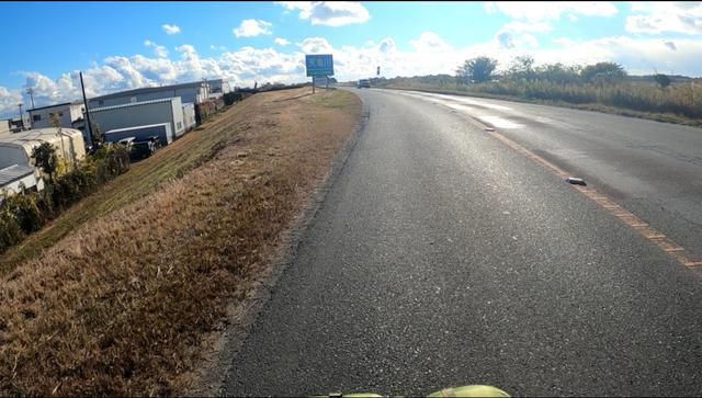 画像: トラックとすれ違う時がほんとにこわかった。