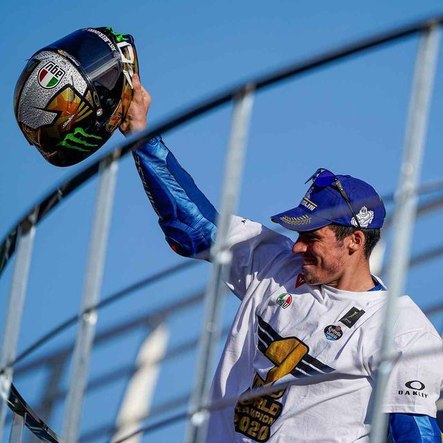 画像: MotoGP年間チャンピオンを獲得したジョアン・ミル選手