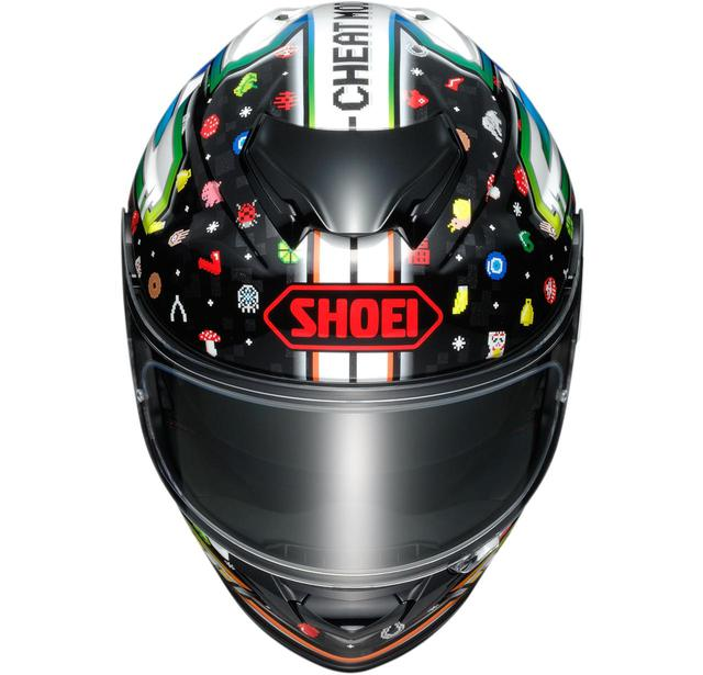 画像: SHOEI GT-AirII LUCKY CHARMS