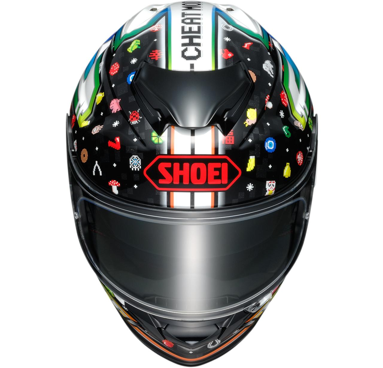 Images : 3番目の画像 - 【写真3枚】SHOEI GT-AirII LUCKY CHARMS - webオートバイ