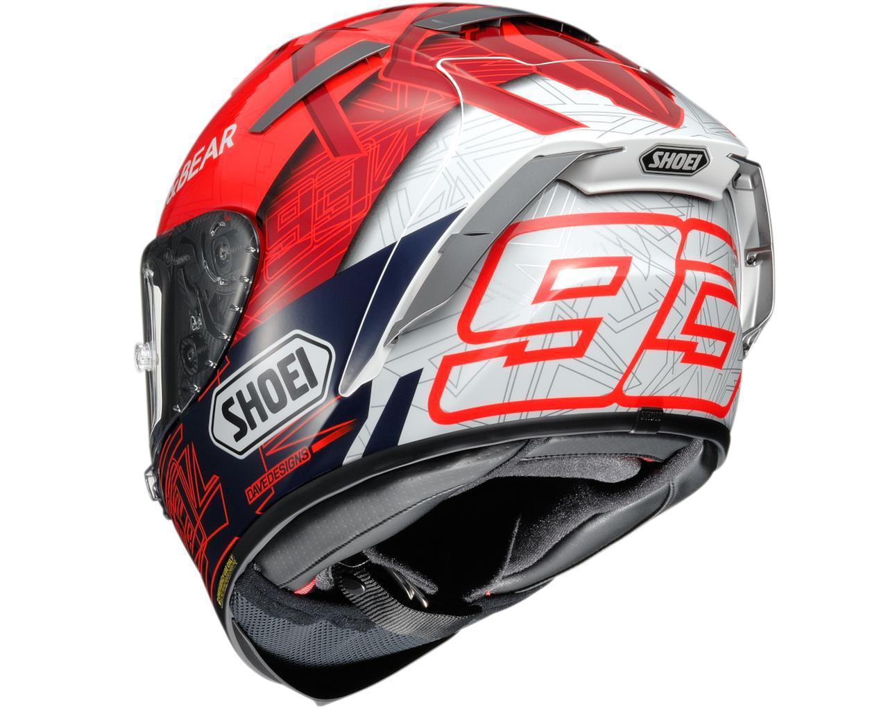 画像1: MotoGP マルク・マルケス選手の最新レプリカヘルメットSHOEI「X-Fourteen MARQUEZ 6」登場