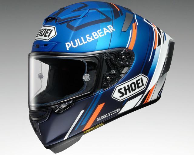 画像: SHOEIがMotoGPアレックス・マルケス選手のレプリカヘルメットを発表! SHOEI「X-Fourteen AM73」 - webオートバイ