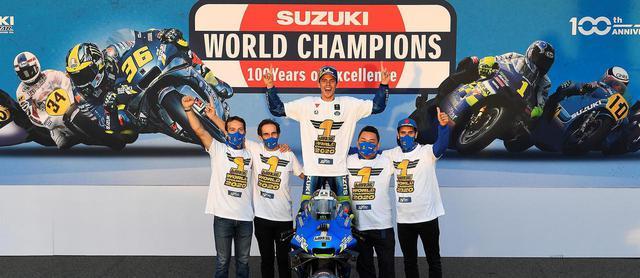 画像: <MotoGP> 100周年、GP参戦60周年 スズキ勝った!~ジョアン・ミル スズキ20年ぶりのGP最高峰王者に - webオートバイ