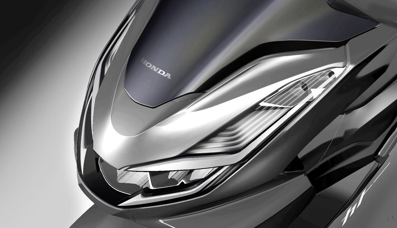 画像: 原付二種、125ccスクーターのベストセラー「ホンダPCX」が全てを一新して登場! - webオートバイ
