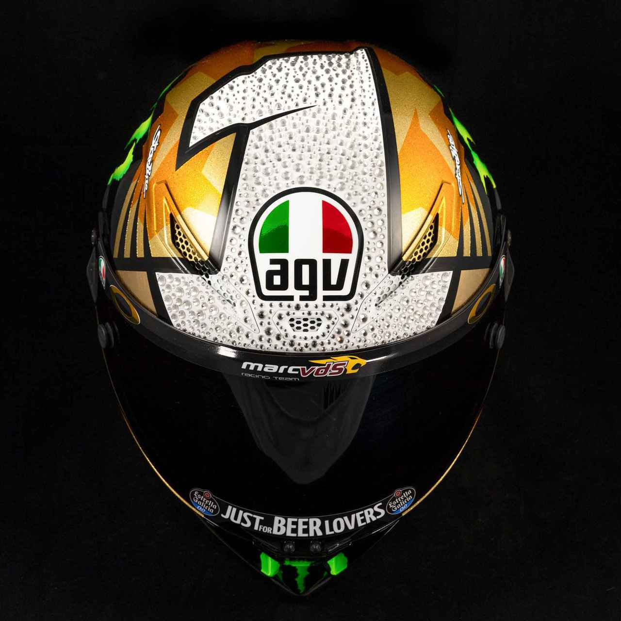 Images : 1番目の画像 - AGV PISTA GP RR 012-MIR WORLD CHAMPION 2020 - webオートバイ