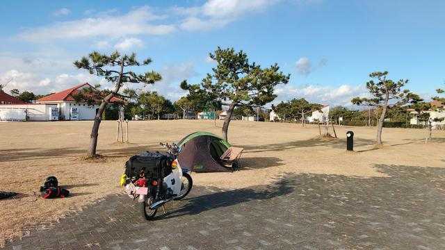 画像7: 『ゆるキャン△SEASON2』放送開始を記念して「竜洋海洋公園オートキャンプ場」でレッツ冬キャン!〈若林浩志のスーパー・カブカブ・ダイアリーズ Vol.52〉