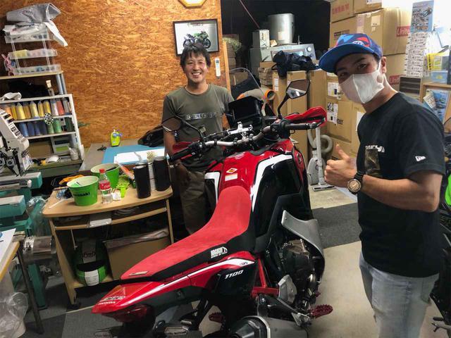 画像: 全日本モトクロスチャンピオンの小島庸平選手!