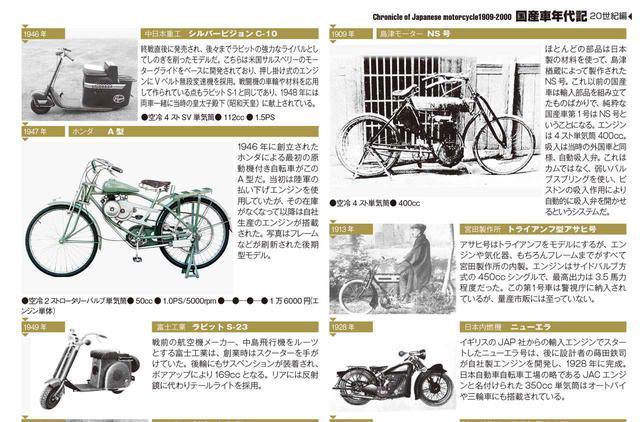画像: 日本のオートバイの歴史を存分にご堪能ください!