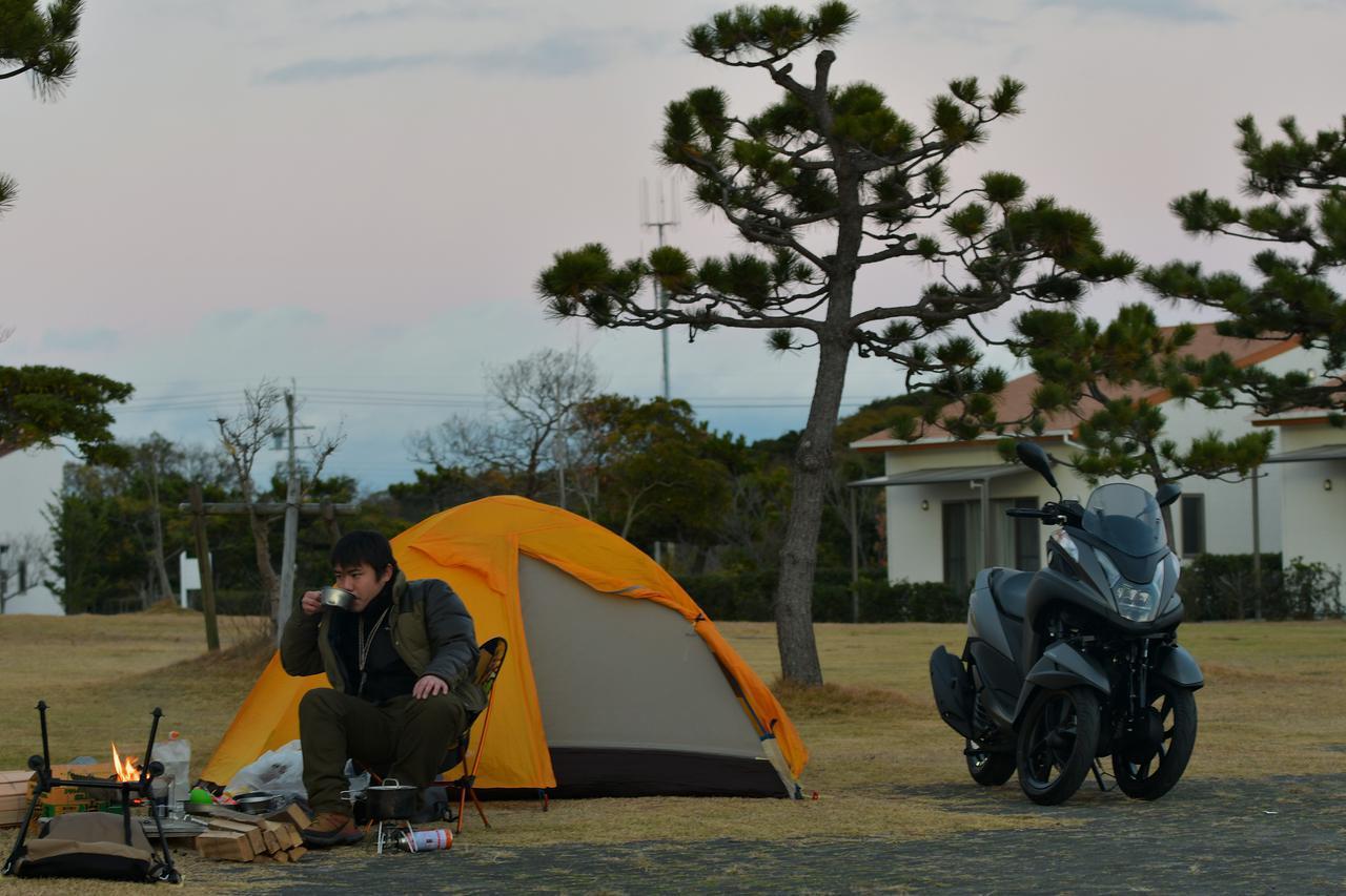 画像: キャンプをしたのは、静岡県磐田市の竜洋海洋公園オートキャンプ場。
