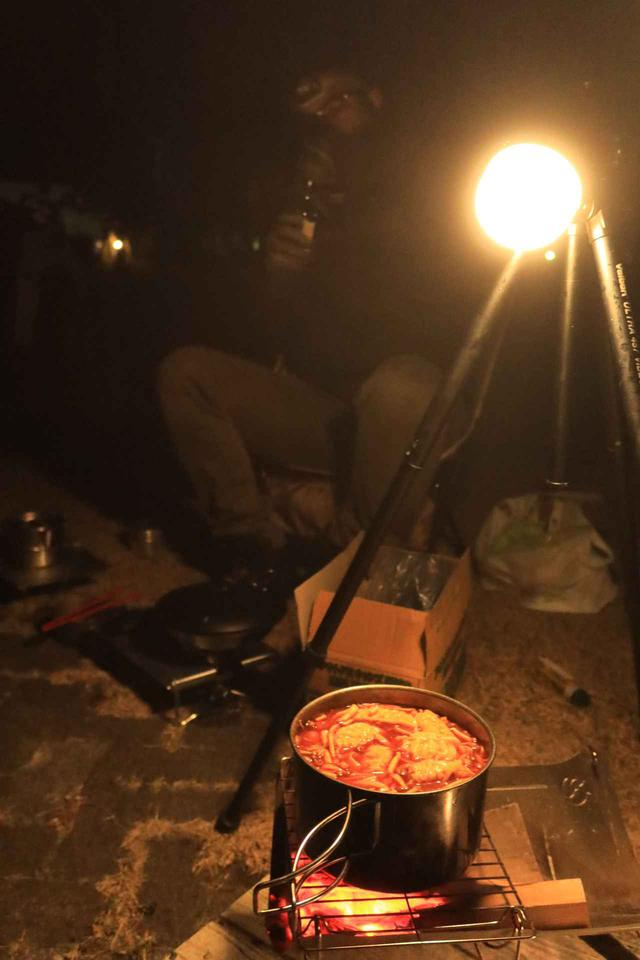 画像2: 真冬の強風キャンプツーリング! トリシティ155で「スーパー・カブカブ・ダイアリーズ」の若林浩志氏に会ってきた!