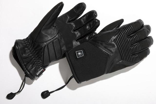 画像: 12VヒートレザーグローブTYPE-2 税込3万5200円 ジャケット袖口の形状/太さと、グローブのカフ部分の相性問題が起きにくいショートタイプ。山羊革なので操作フィーリングも上々。 amzn.to