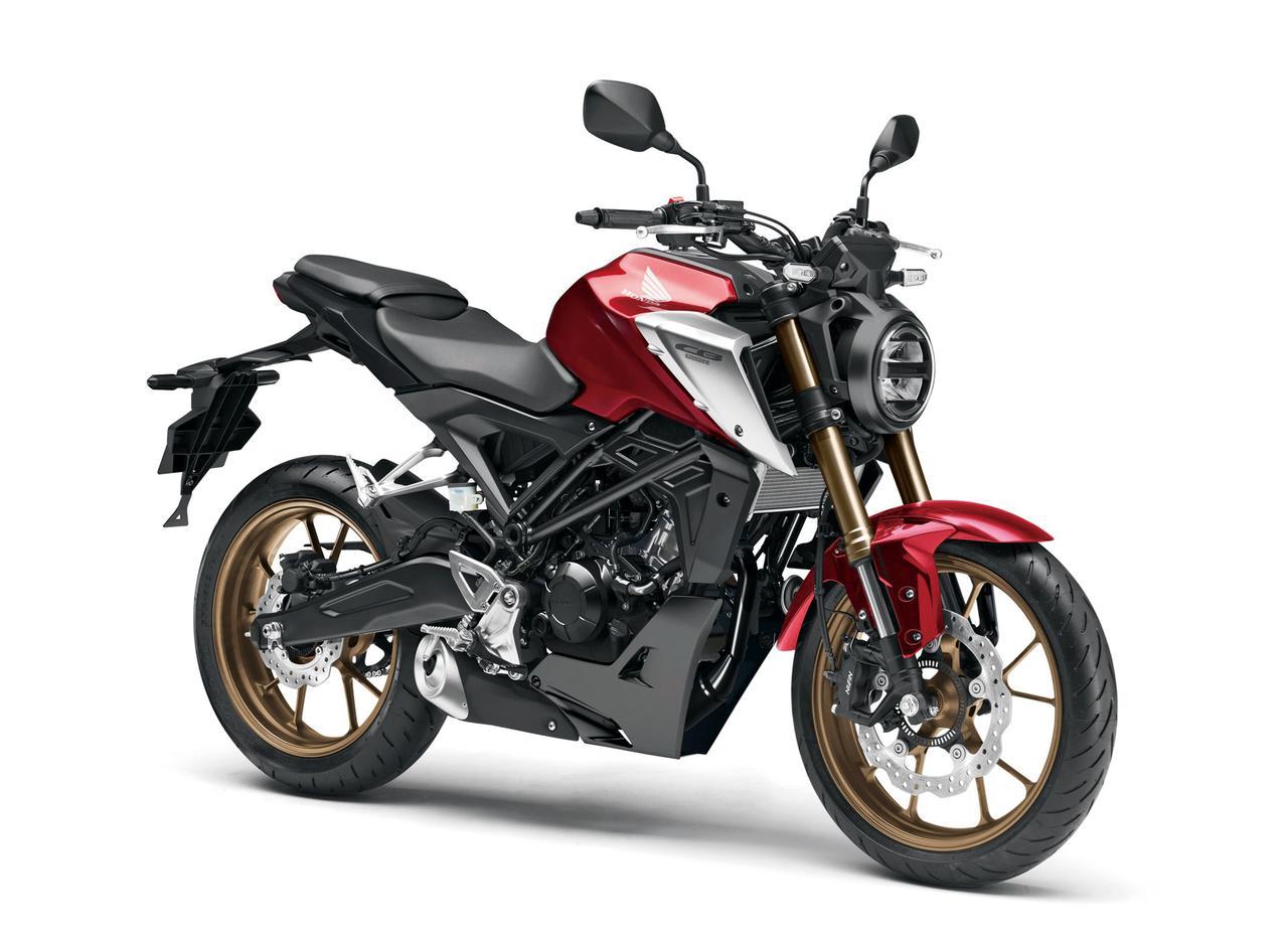 Images : 1番目の画像 - 【写真13枚】ホンダ新型CB125R - webオートバイ