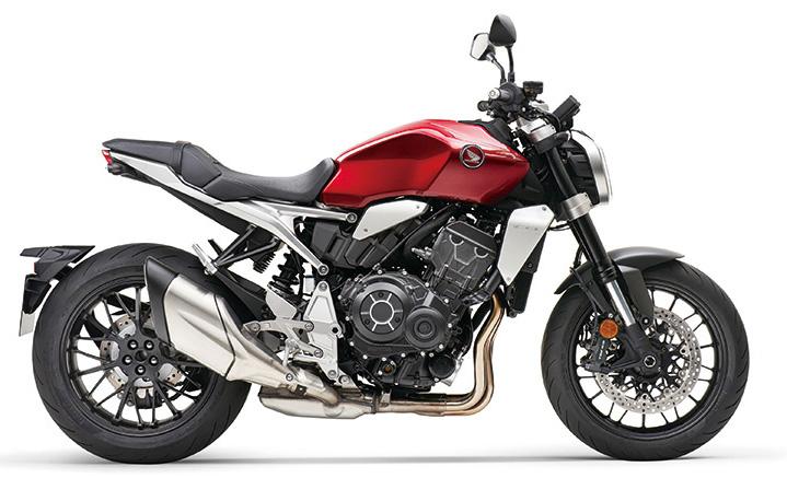 画像: ホンダ 新型「CB1000R」 (2021年モデル・欧州仕様車) 総排気量:998cc エンジン形式:水冷4ストDOHC4バルブ並列4気筒 シート高:830mm 車両重量:212kg