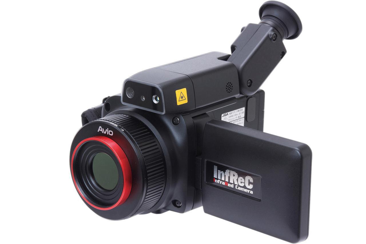画像: 使用した「赤外線サーモグラフィカメラ」はこちら!