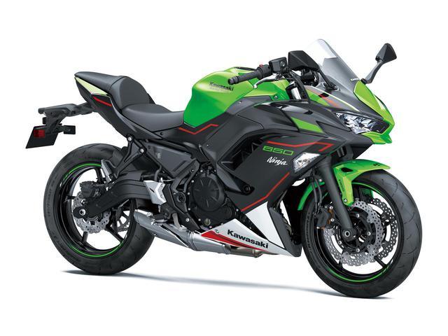 画像: Kawasaki Ninja 650 KRT EDITION カラー名称:ライムグリーン×エボニー
