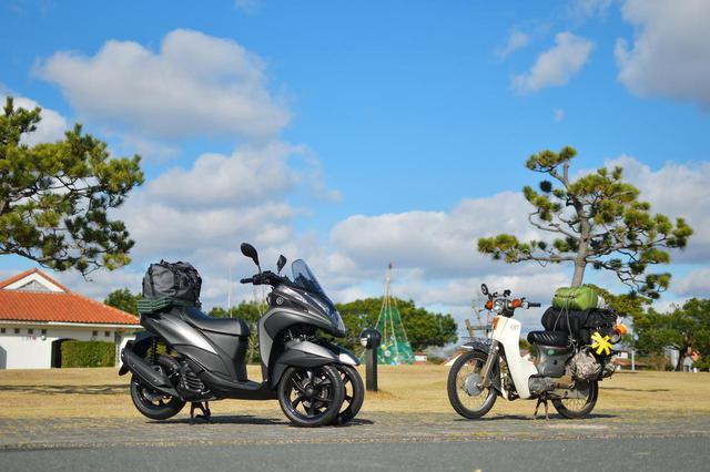 画像: 『ゆるキャン△SEASON2』放送開始を記念して「竜洋海洋公園オートキャンプ場」でレッツ冬キャン!〈若林浩志のスーパー・カブカブ・ダイアリーズ Vol.52〉 - webオートバイ