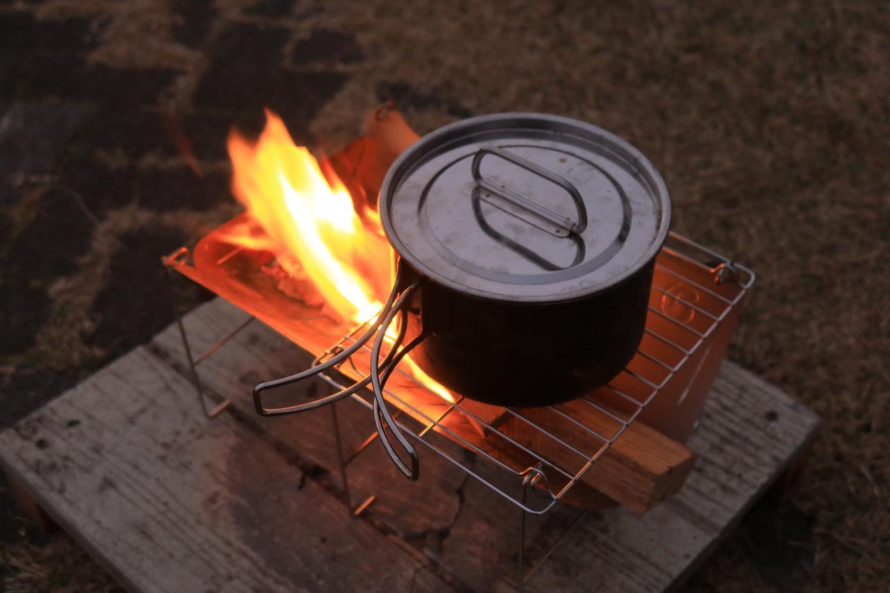 画像1: 炭もOKで、調理も得意!