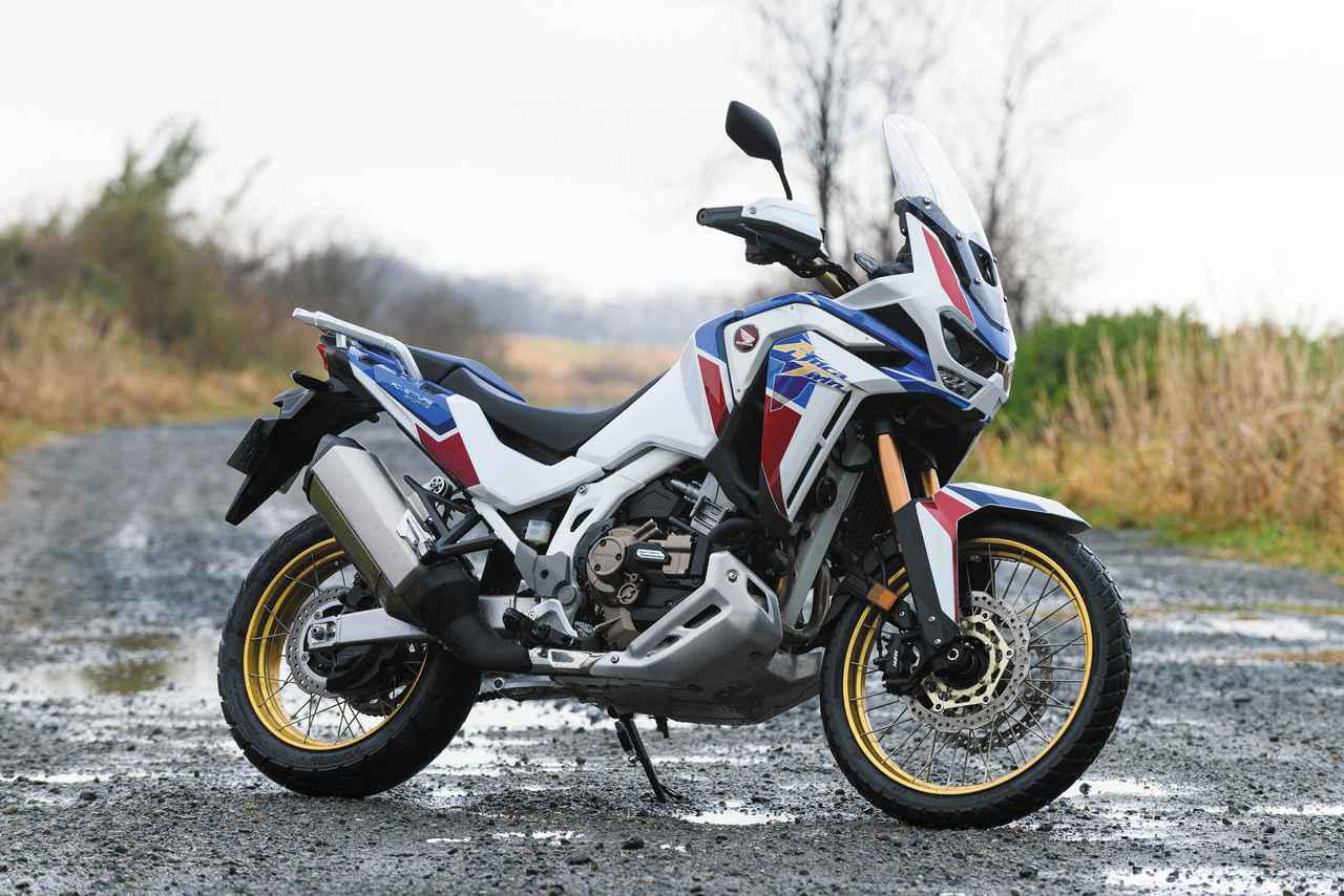 画像: Honda CRF1100L Africa Twin Adventure Sports ES Dual Clutch Transmission 総排気量:1082cc エンジン形式:水冷4ストSOHC4バルブ並列2気筒 シート高:810⇔830mm 車両重量:250kg メーカー希望小売価格:税込205万7000円